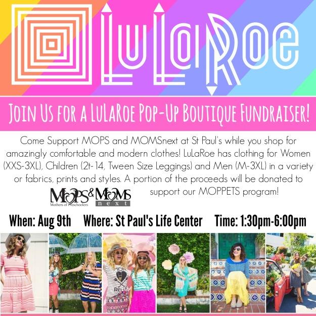 lularoe fundraiser